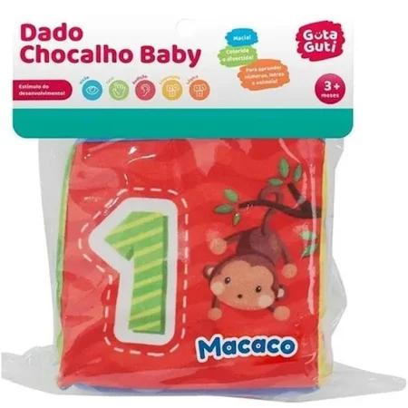 Dado Chocalho Baby Macio - Dmb5840 Dm Brasil
