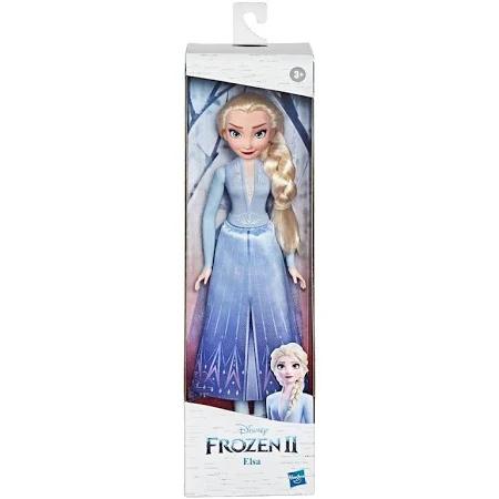 Disney Frozen 2 Boneca Básica Elsa - Com Saia E Sapatos Inspirados No Filme - E9022 - Hasbro