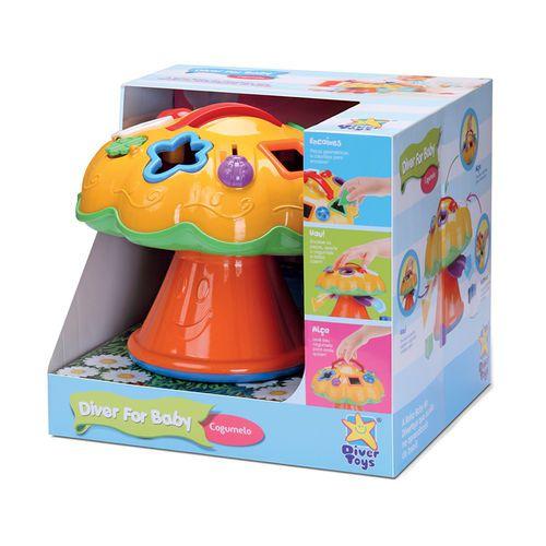 Diver For Baby Cogumelo Ref.697 Divertoys