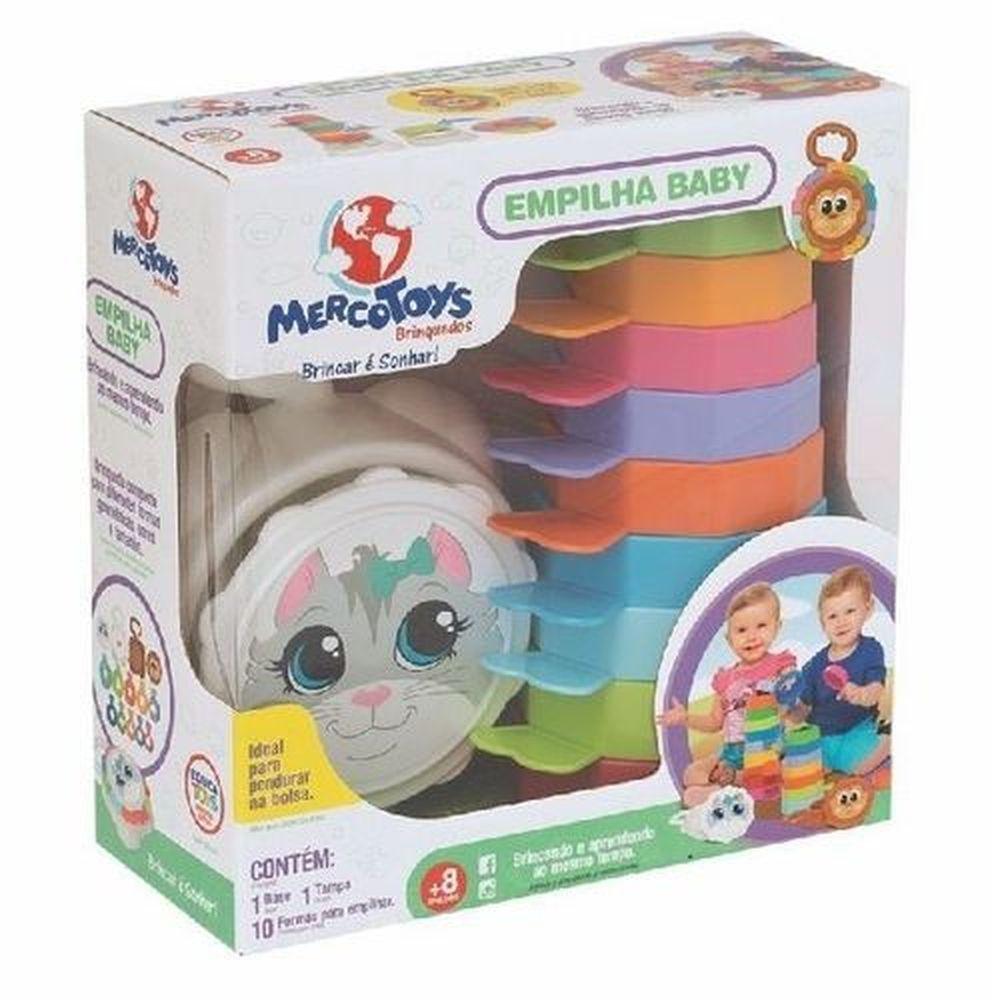 Empilha Baby Gatinho-Cx - Mercotoys