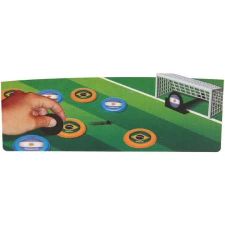 Futebol de Botão Bolão Times Mistos com 12 Seleções Gulliver Botões de Plástico - 456 Guliver