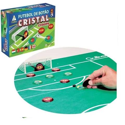 Futebol De Botao Cristal Europa com 6 times - 350 351 Gulliver