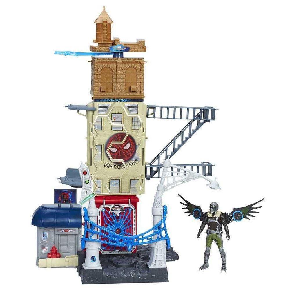 Hasbro Spider Man Home Coming Conjunto Web City Playset B9692 Hasbro