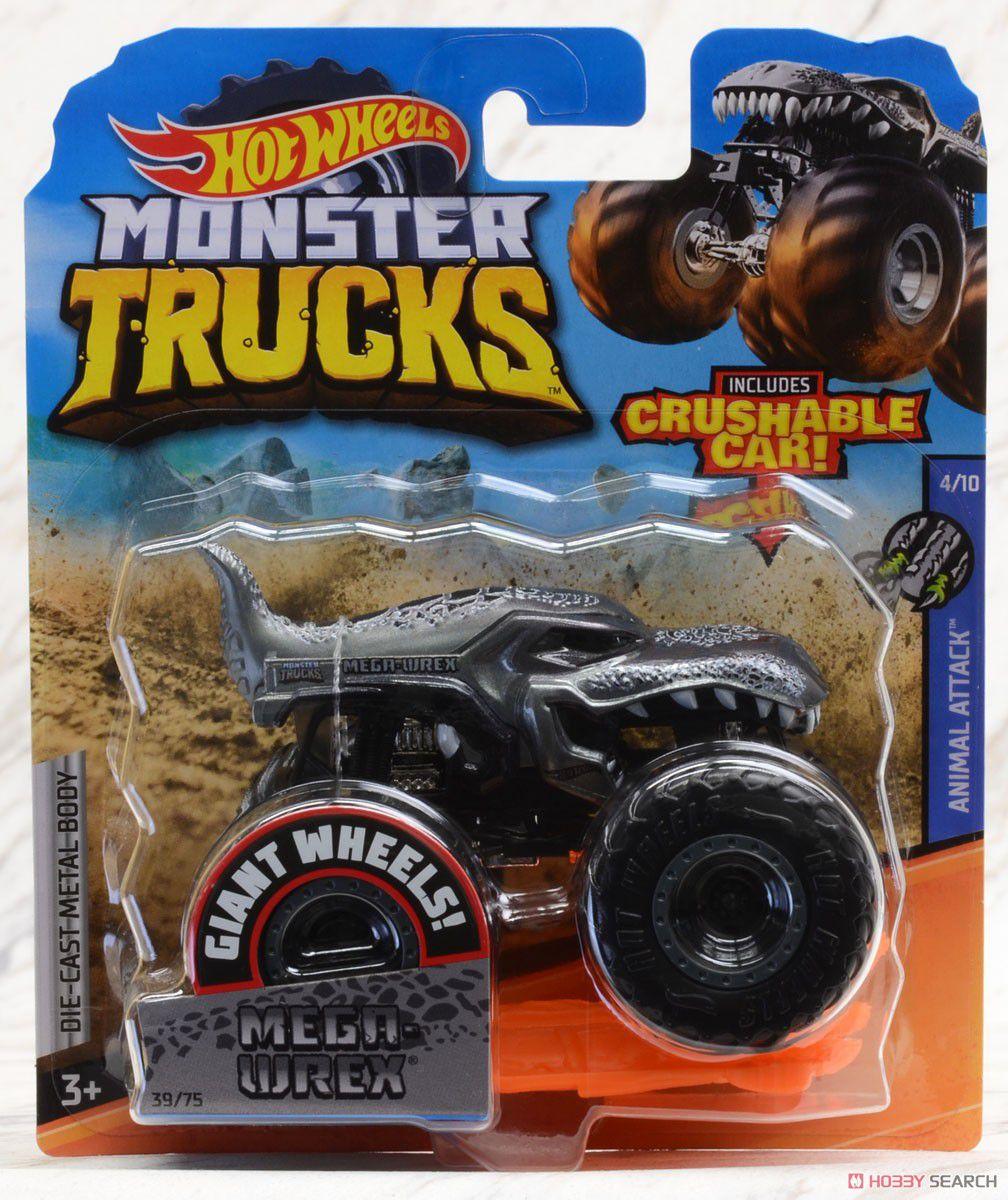 Hot Wheels Monster Trucks Die-Cast Vehicle Ref.Gjf20 Mattel