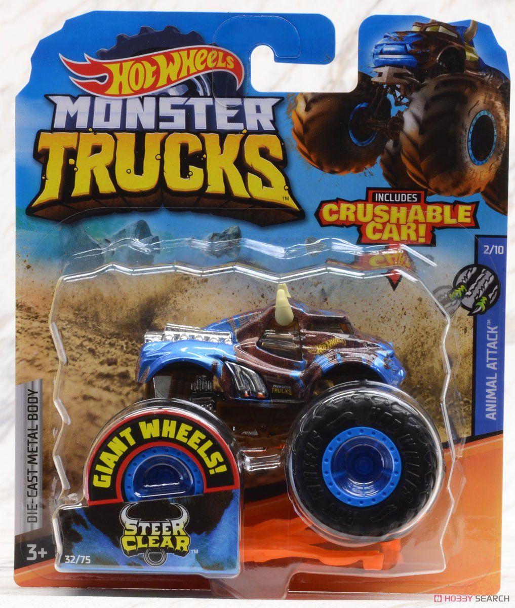 Hot Wheels Monster Trucks Die-Cast Vehicle Ref.Gjf21 Mattel