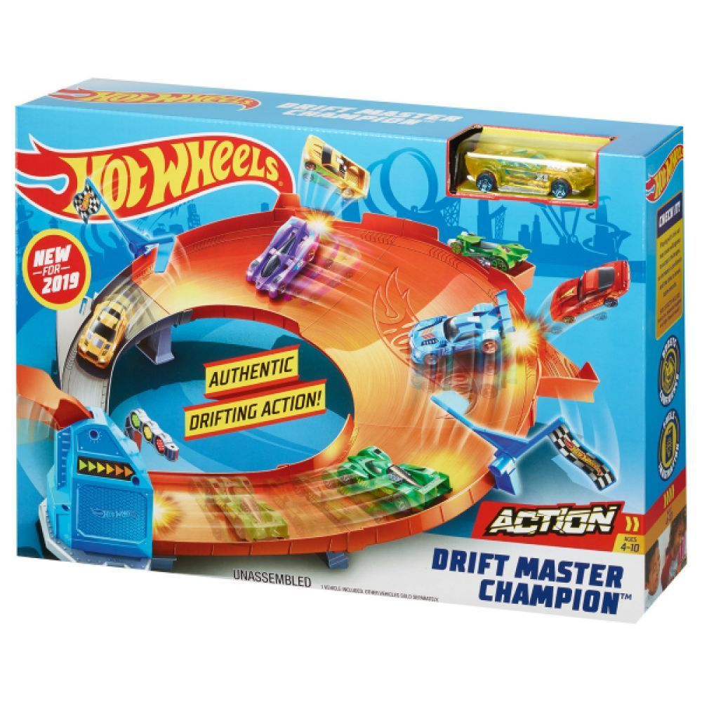 Hot Wheels Campeonato De Drifting Ref.Gbf81 Mattel