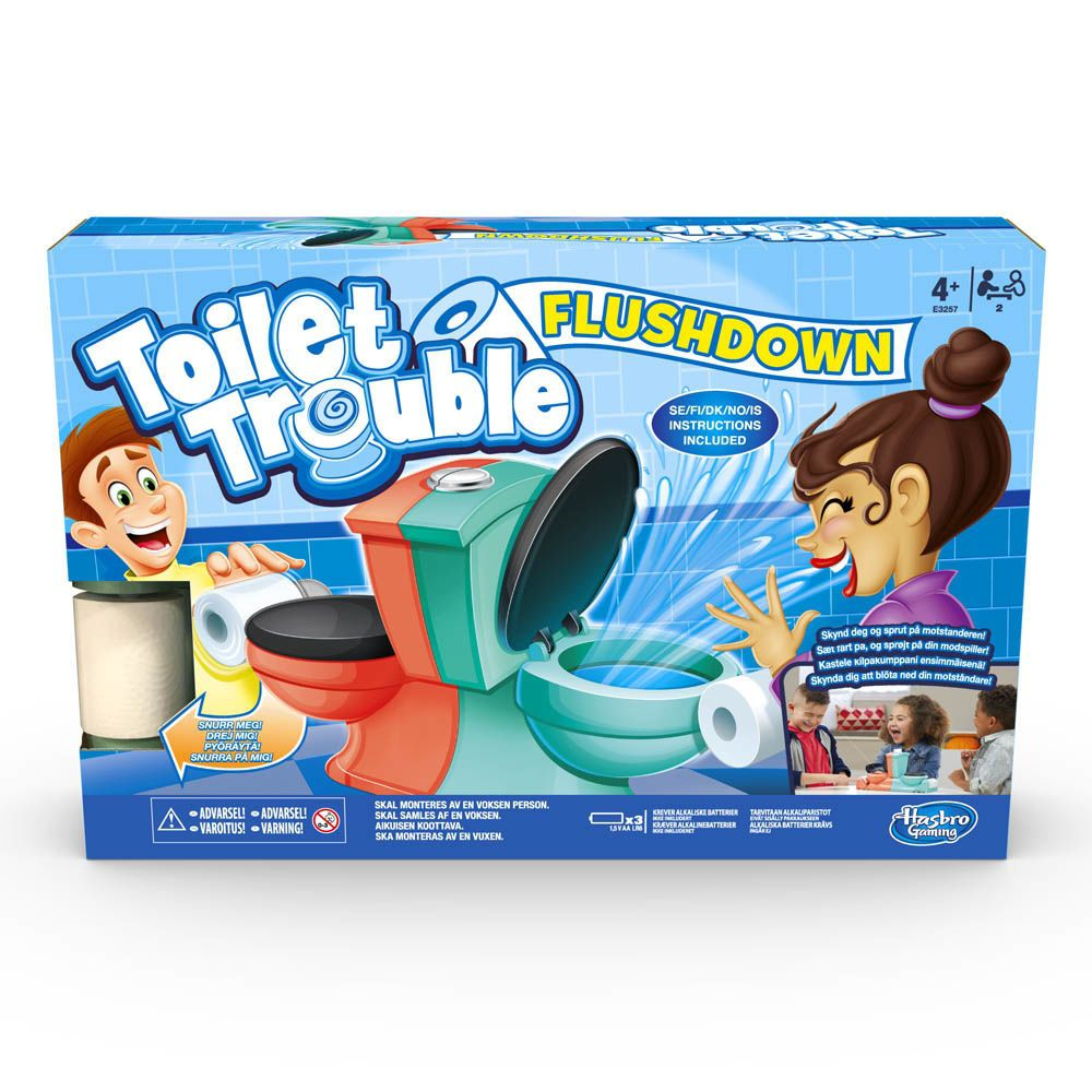 Jogo Banheiro Maluco O Duelo - Hasbro