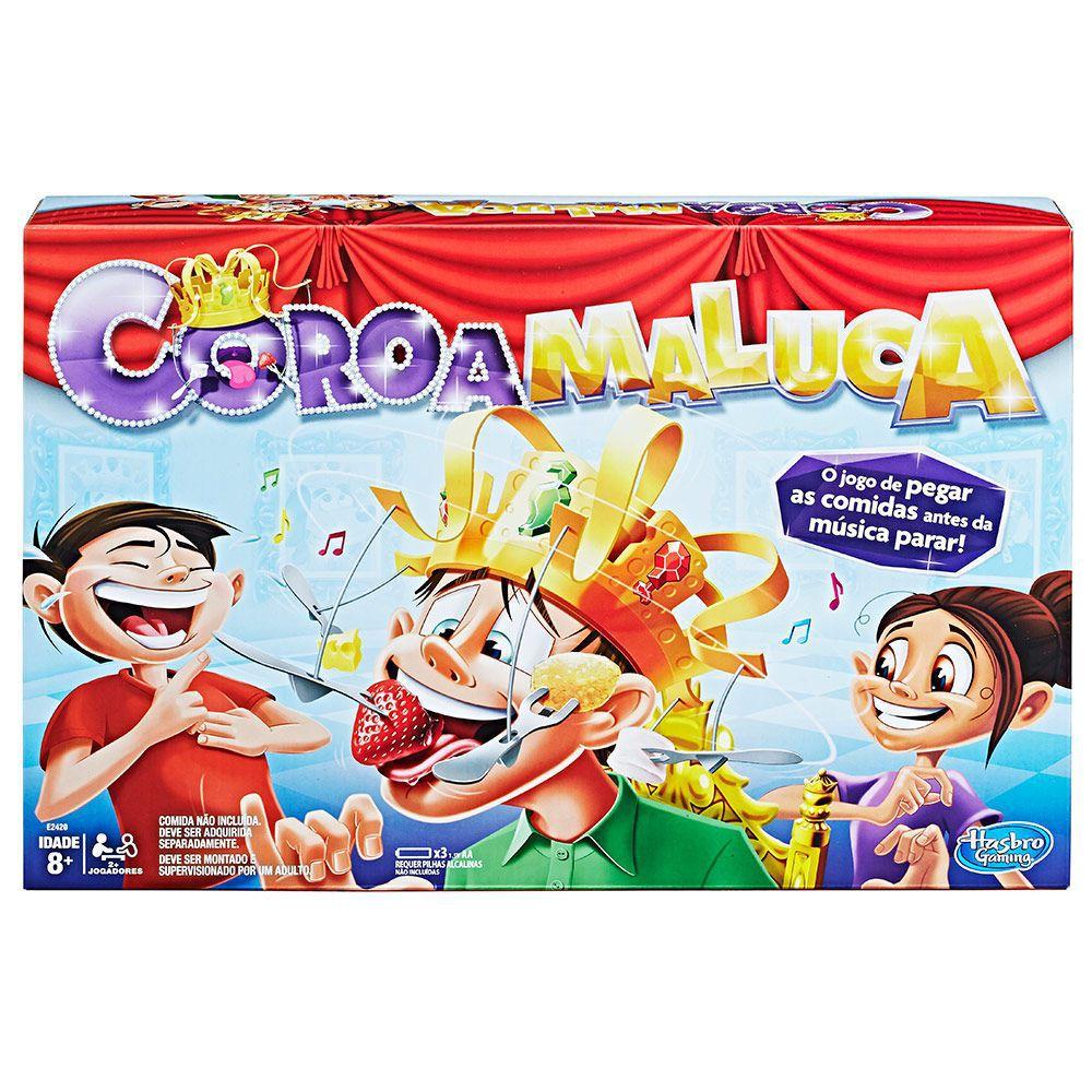 Jogo Coroa Maluca - Hasbro