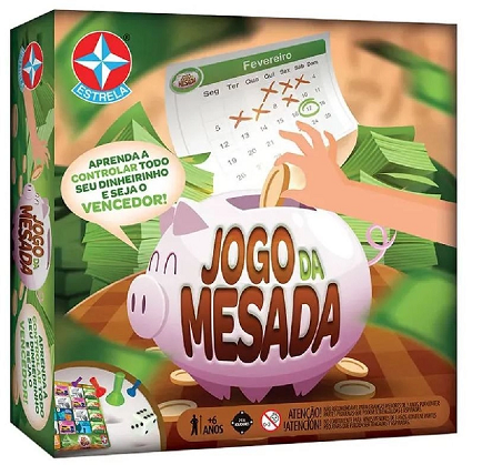 Jogo Da Mesada Ref. 163105