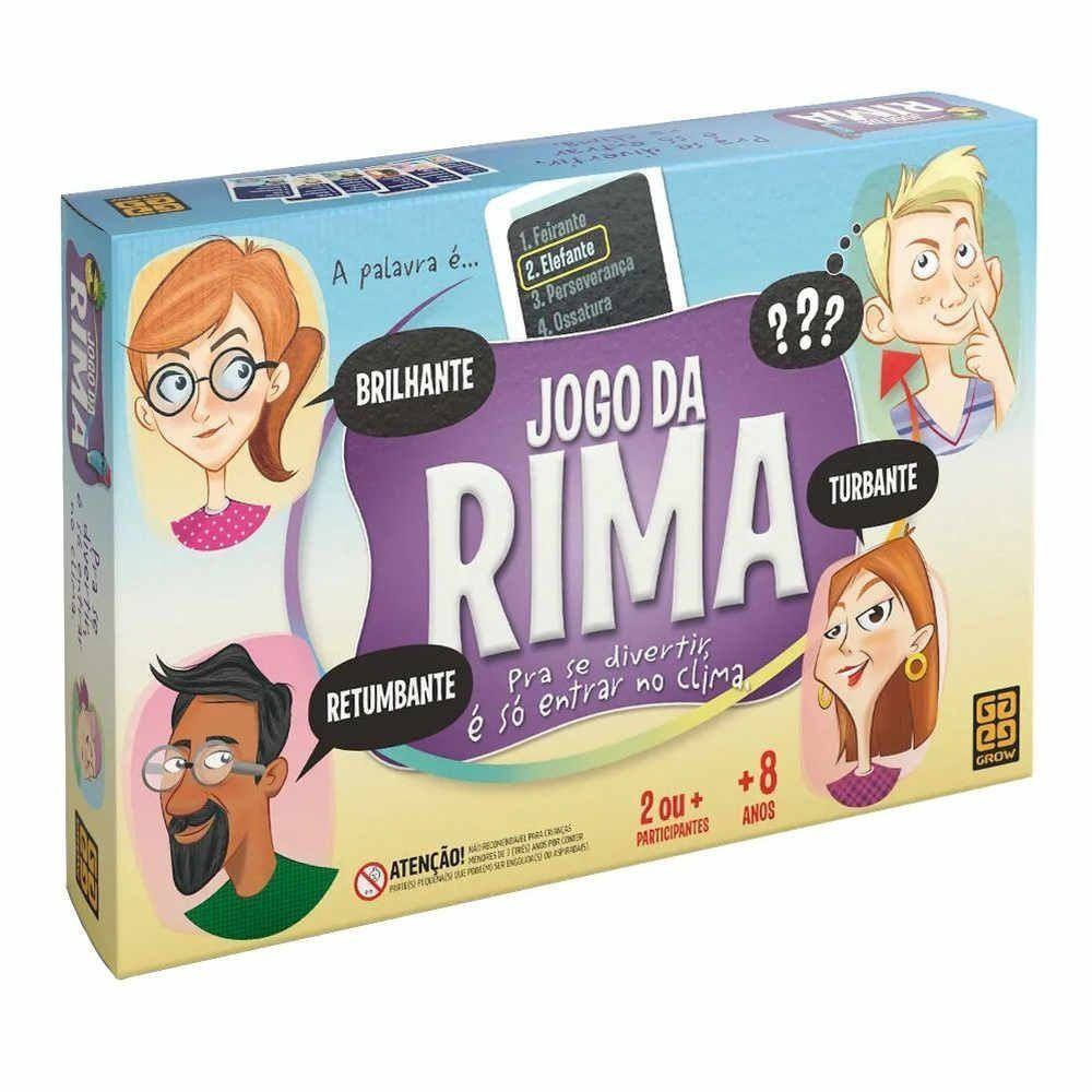 Jogo Da Rima Grow