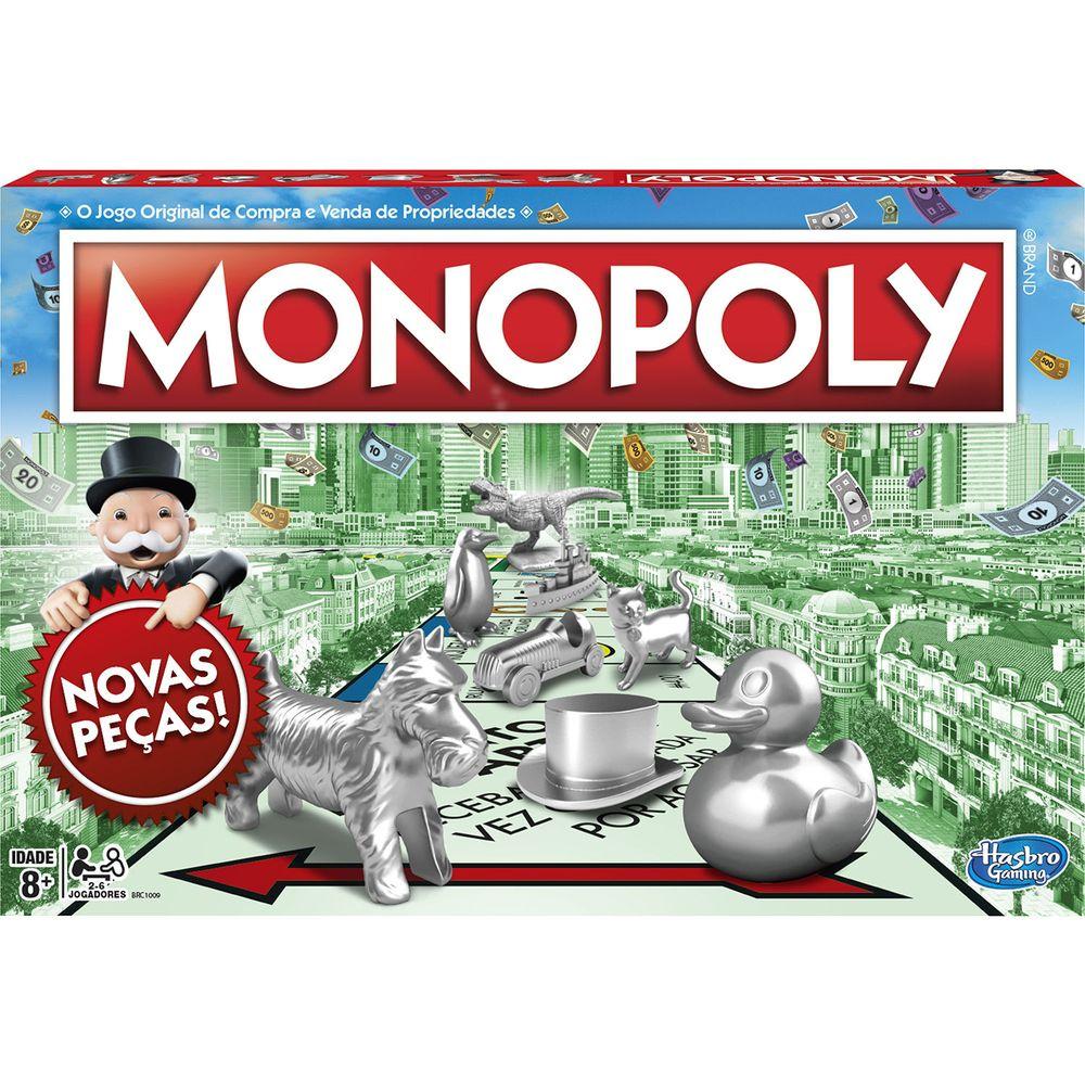 Jogo Hasbro Gaming Monopoly - C1009 - Hasbro