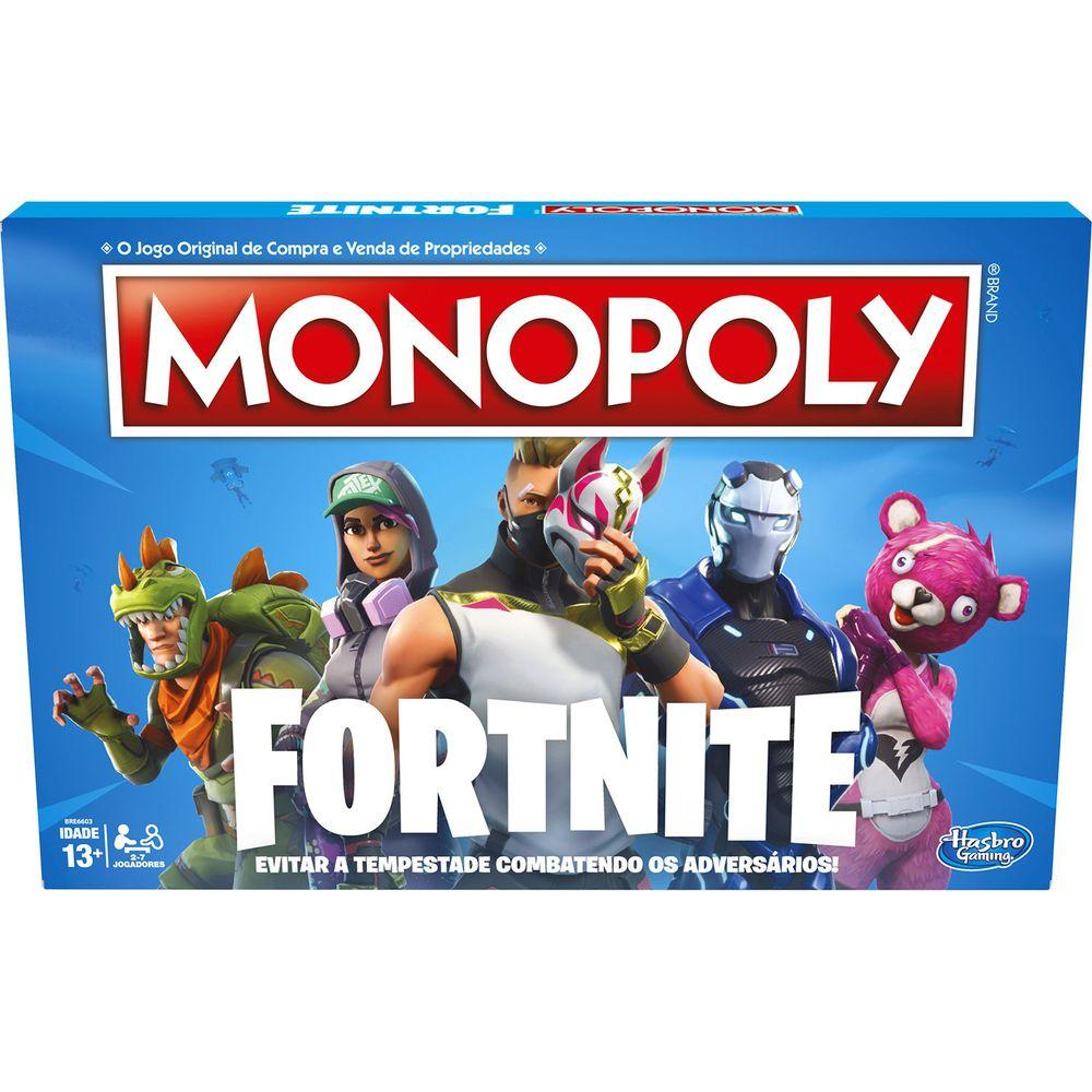 Jogo Monopoly Fortnite - E6603 - Hasbro