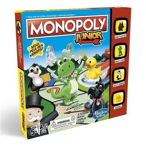 Jogo Monopoly Junior Ref: A6984