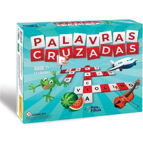 Jogo Palavras Cruzadas Super Jogos - 2171.1 Pais E Filhos