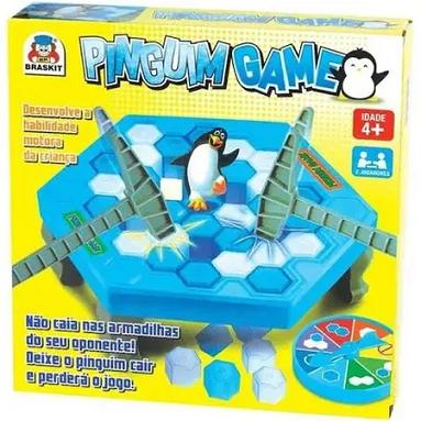 Jogo Quebra Gelo Pinguim Game Com Martelo - 703 Braskit