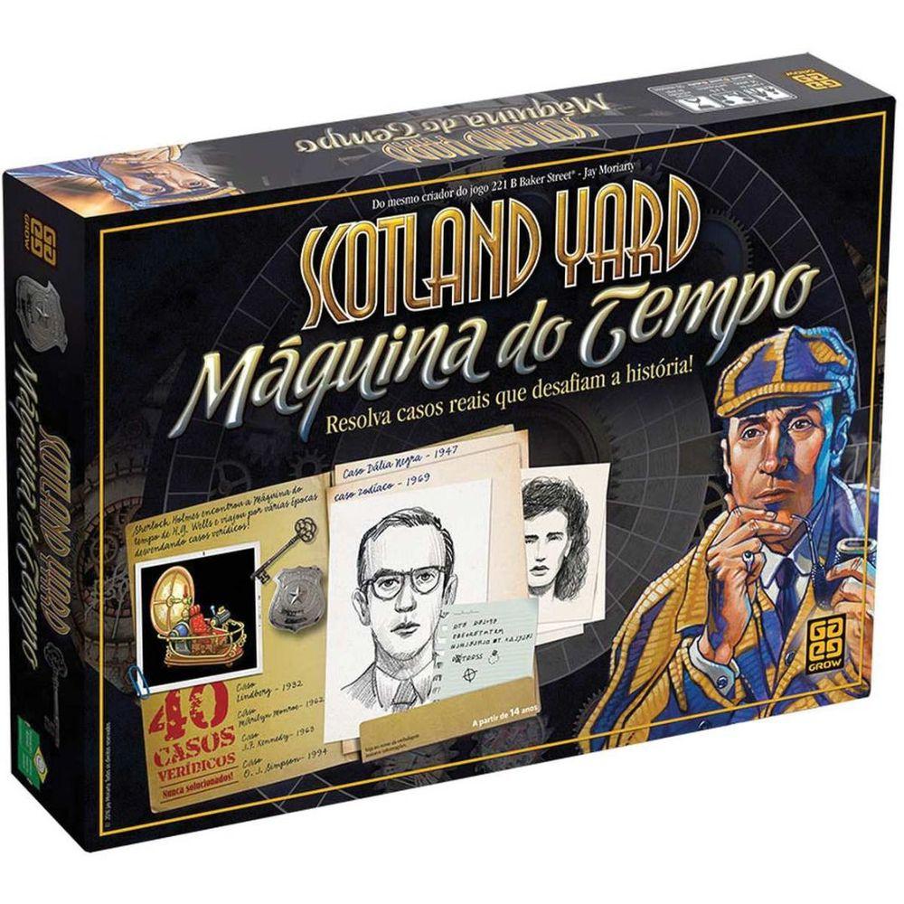 Jogo Scotland YARD Maquina do Tempo GROW