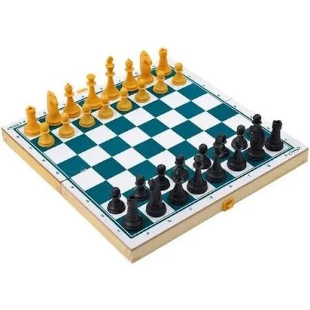 Jogo Xadrez Escolar Plastico - Xalingo 0782.1