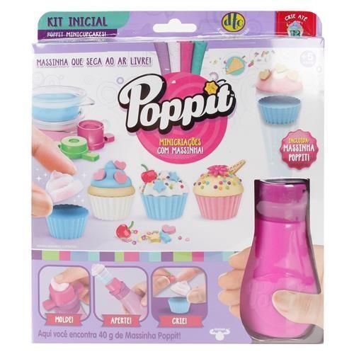 Kit Poppit Refil DTC Cupcake