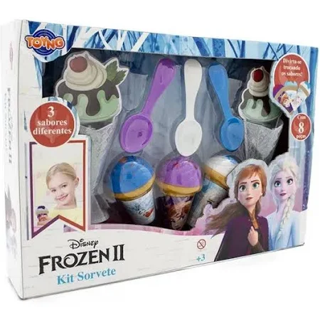 Kit Sorveteria Frozen Ref.038664 Toyng