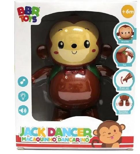Macaquinho Dançarino - R2986 Bbr