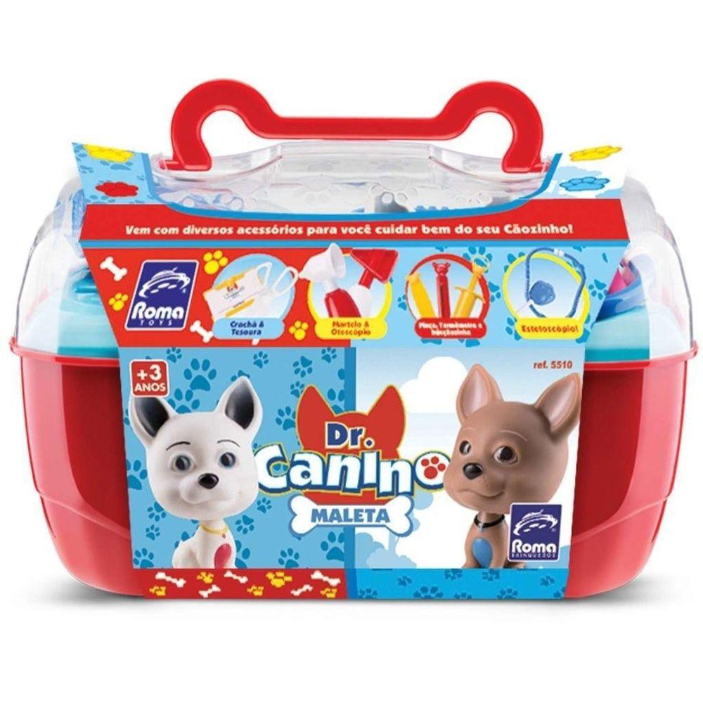 Maleta Doutor Canino Pet Roma Brinquedos