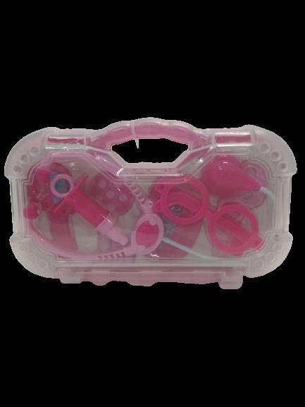 Maleta Médica Infantil Menina Rosa Mini Doutor - 1265 Pakiplast