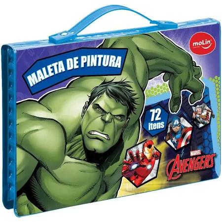Maleta Pintura Avengers Ref.22235 Molin