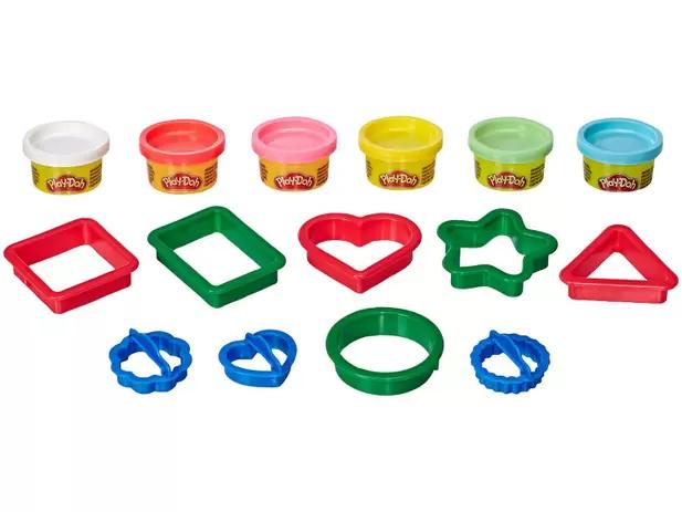 Massinha Play Doh Formas Hasbro com Acessórios - E8534 Hasbro