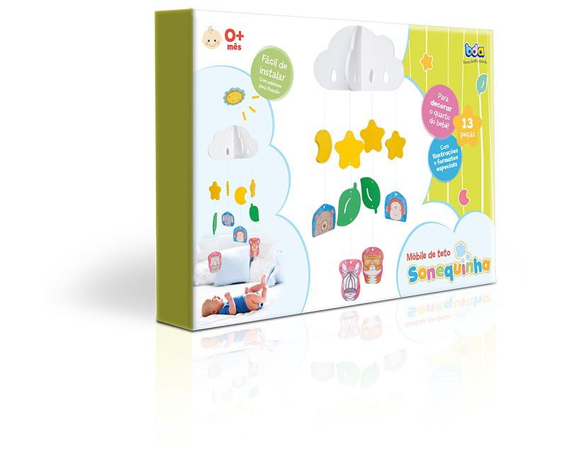 Mobile De Teto Sonequinha Ref. 2463 Toyster