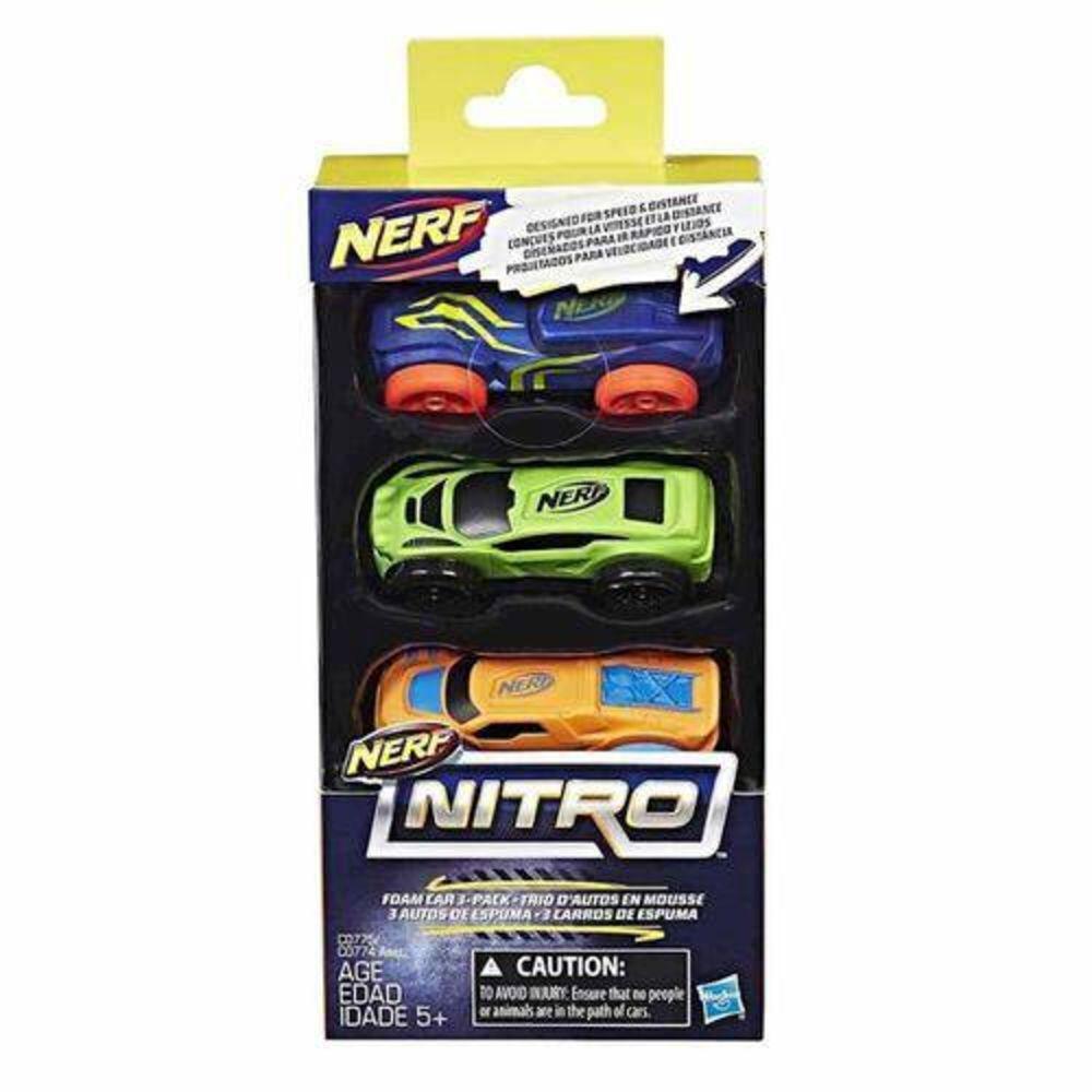 Nerf Refil Nitro Carros C/3 - C0774/c0775