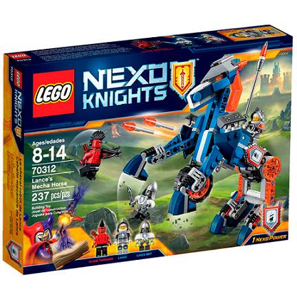 O Cavalo Mecanico De Lance Ref.70312 Lego
