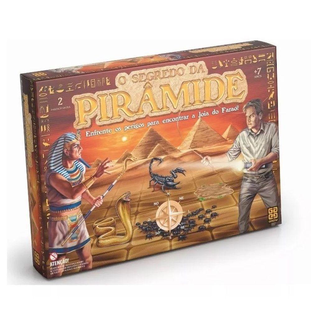 O Segredo da Pirâmide - Jogo de Tabuleiro- Grow