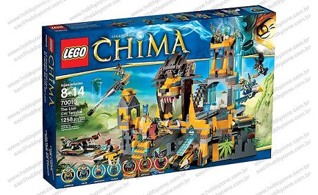 O Templo Do Chi Do Leao Ref. 70010 Lego