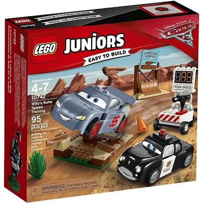 O Treino De Velocidade De Willys Butte Ref.10742 Lego