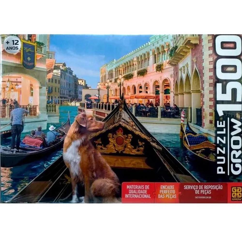 Quebra Cabeça 1500 Peças Pet Na Gondola Ref. 03939 Grow