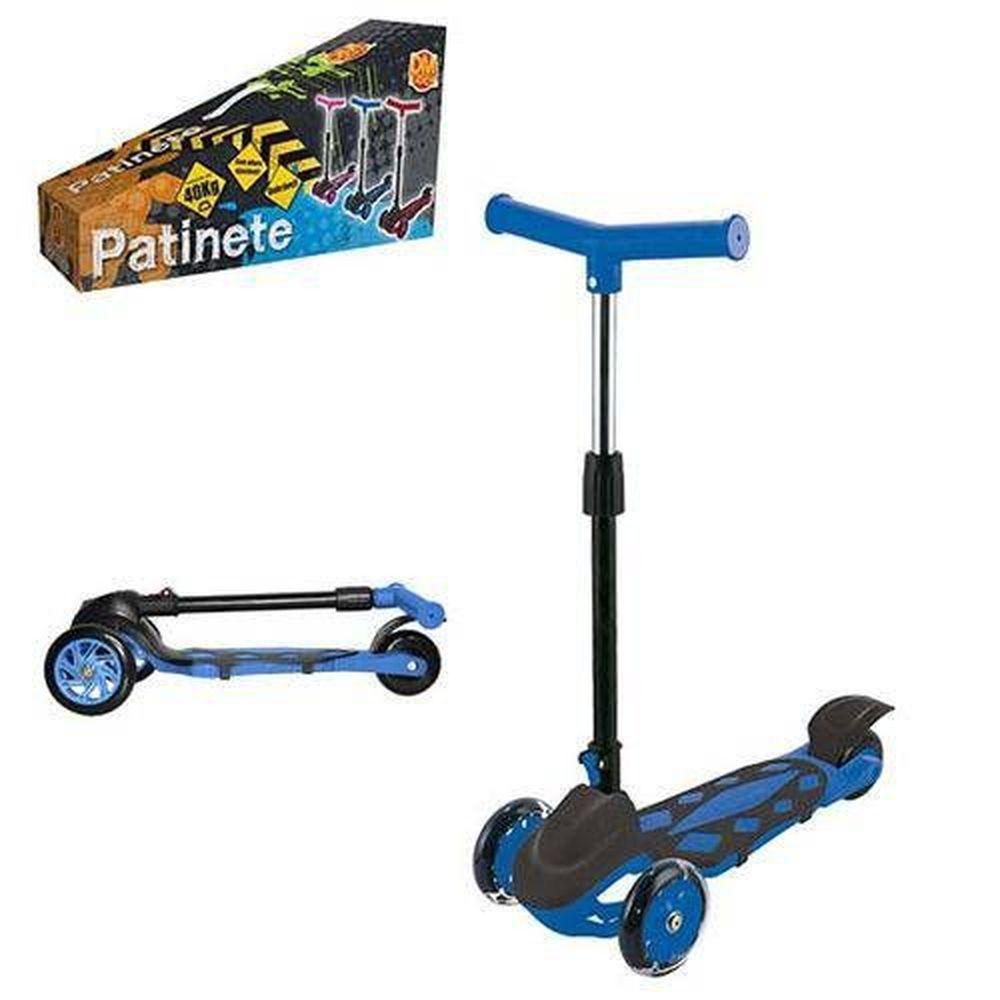 Patinete Radical Power Azul Ref.Dmr5553 Dm Brasil