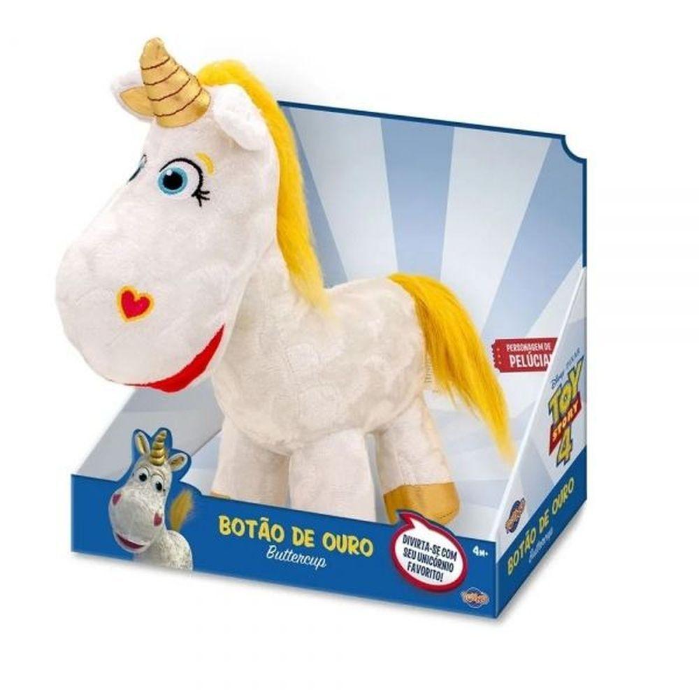 Pelúcia Unicórnio Botão de Ouro Toy Story 4 Toyng