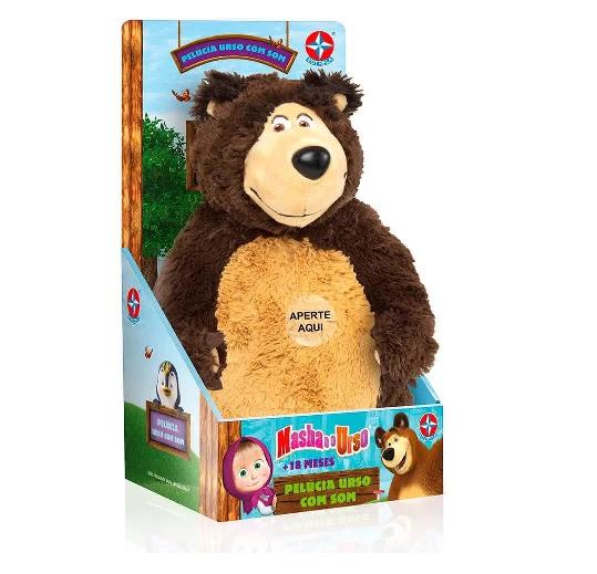 Pelucia Urso Com Som Ref.1003105800022 Estrela