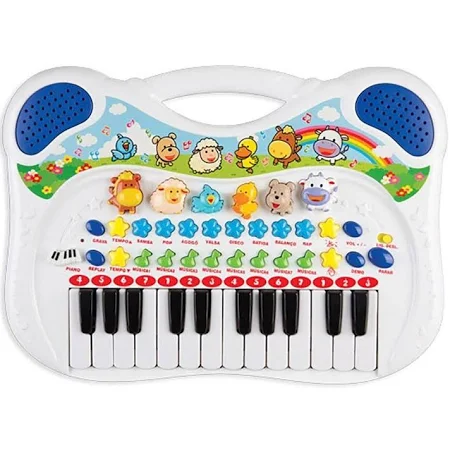 Piano Musical Animal Azul Ref.6407 Braskit