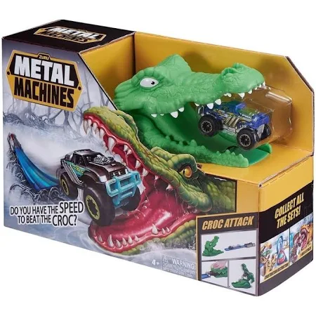 Pista Metal Machines Crocodilo Attack - 8704 Candide