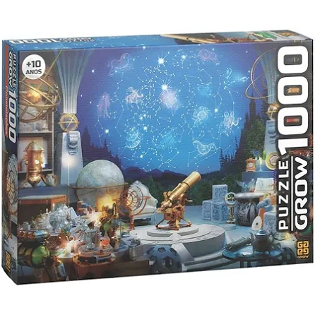 Puzzle Quebra Cabeça Constelacoes 1000 Pçs Ref.03743 Grow