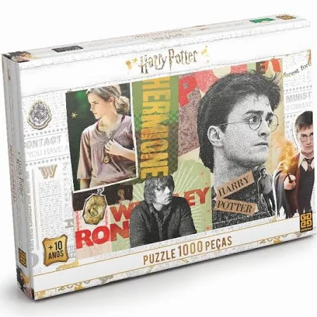 Puzzle Quebra Cabeça Harry Potter 1000 Pçs Ref.03617 Grow