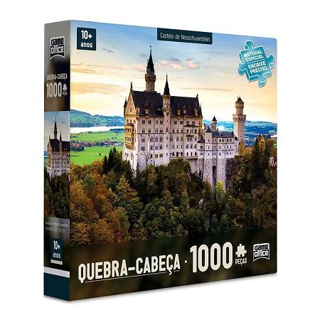 Quebra Cabeça 1000 Pcs Castelo Neuschwanstein Ref. 2309 Toyster