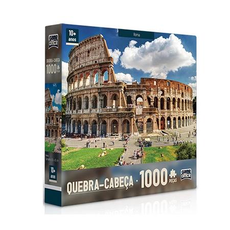 Quebra Cabeça 1000 Pcs Roma Ref.2091 Toyster