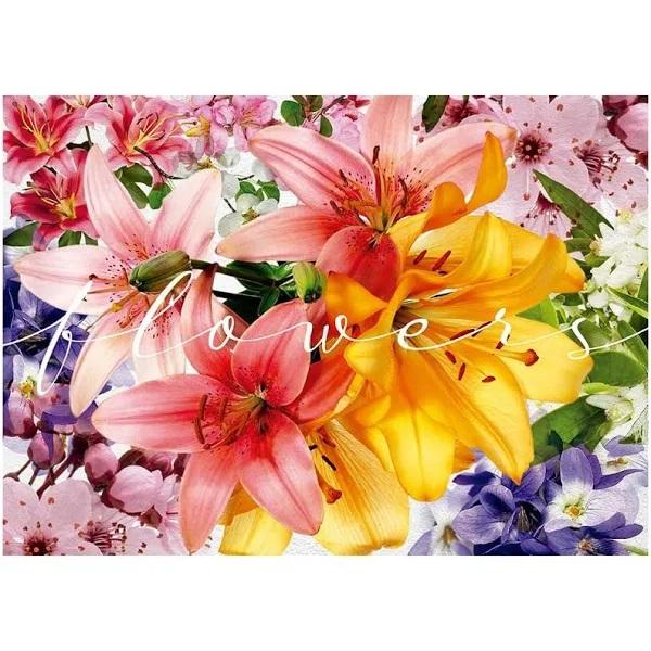 Quebra Cabeça 1000 Peças Flowers - 04035 Grow