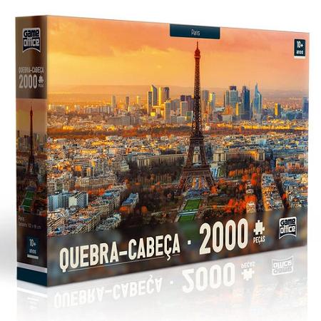 Quebra Cabeça 2000 Pcs Paris Ref. 2311 Toyster