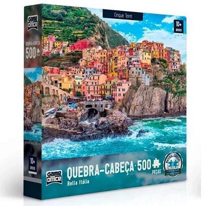 Quebra Cabeça 500 Pcs Bella Italia Ref. 2514 Toyster