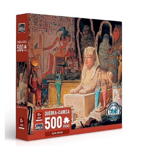 Quebra Cabeça 500 Pcs Egito Antigo Ref.2692 Toyster