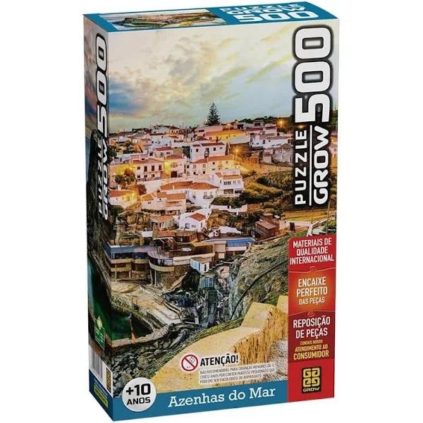 Quebra Cabeça 500 Peças - Azenhas Do Mar - 04039 Grow