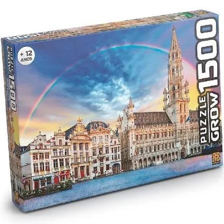 Quebra-Cabeca Bruxelas 1500 Peças - 3736 Grow